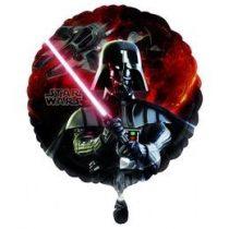 "Fólia lufi 18"" 45cm Darth Vader, 2568501, héliummal töltve"