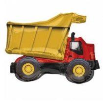 """Óriás fólia lufi 32""""  81cm teherautó, dömper, 3538901, héliummal töltve"""