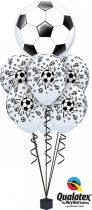 Héliumos luficsokor bármely alkalomra, foci, football - INGYENES KISZÁLLÍTÁSSAL
