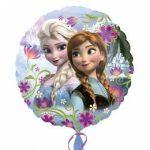 """Fólia lufi 17"""" 43cm Frozen, Elsa, Anna 3019701, héliummal töltve"""