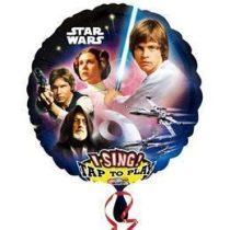 """Éneklő, zenélő lufi 28"""" (71cm) Happy Birthday, Star Wars Héliummal töltött, 3165401"""