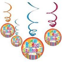 Boldog születésnapot! függő dekoráció