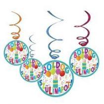 Boldog születésnapot! függő dekoráció, Jamboree, 34975