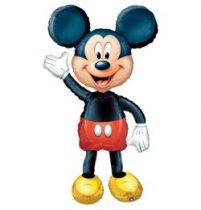 Sétáló lufi, airwalkers 52 inch 132 cm Mickey Mouse - Héliummal töltve