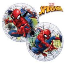 """Mintás Bubbles lufi 22"""" 56cm Héliummal töltve Disney Pókember, 41706"""