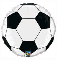 "Óriás fólia lufi 36"" 91cm foci, football, 21529, héliummal töltve"