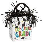 Léggömbsúly, nehezék 160g ajándéktasak forma, Congrats Grad, 49701