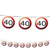 Füzér sebességkorlátozó számos 12m 40-es számmal