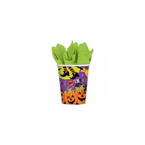 Parti Pohár Halloween - 266ml, 8db, 999949