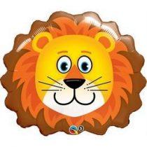 """Óriás fólia lufi 29""""  74cm oroszlán, 16154, héliummal töltve"""