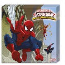 Szalvéta 33x33cm 20db Spiderman, Pókember 85154