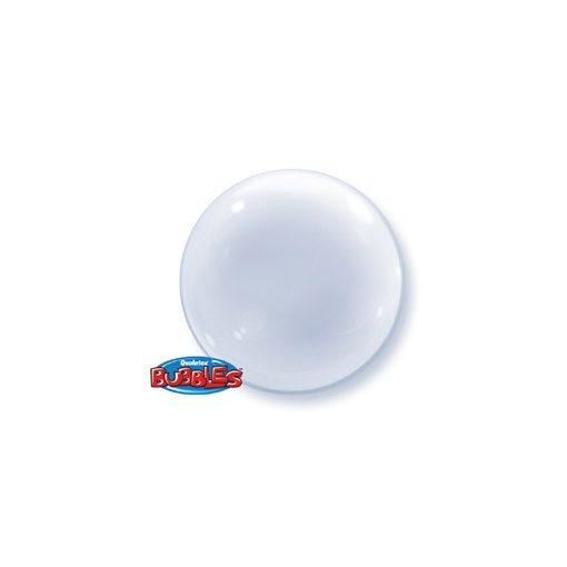 """Deco Bubble lufi 24"""" 61cm krisztálytiszta, átlátszó Héliummal töltve, 68825"""
