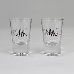 Esküvő, feles pohár szett 2db Mr és Mrs, ma79721