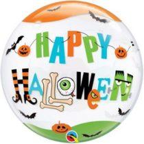 """Halloween Bubbles lufi 22"""" 56cm Héliummal töltve, 89728"""