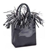 Léggömbsúly, nehezék 160g ajándéktasak forma, fekete színben, 4969
