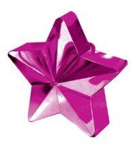 Léggömbsúly, nehezék 170g csillag forma, magenta színben, 11780016