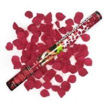 Konfetti ágyú, 60cm-es, piros rózsákat kilövő, oTUKP60-082