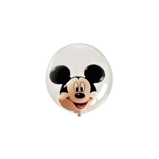 "Mickey Mouse Double Bubble lufi 24"" 60cm Lufiban lufi, Héliummal töltve, 27569"