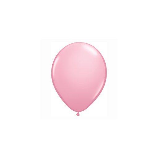 """QUALATEX 11"""" (28cm-es) Latex léggömb, standard színek, rózsaszín lufi, standard pink"""