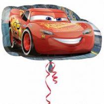 "Óriás fólia lufi 30""  76cm Verdák, McQueen, 3537001, héliummal töltve"