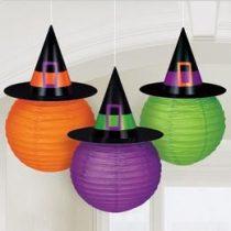 Lampion 3db boszorkányos, Halloween a241207