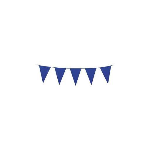 Zászlófüzér 10m műanyag, sötétkék, t74785