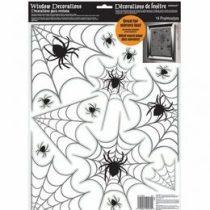 Pókháló ablakdekor, Halloween, a248600
