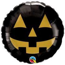 """Fólia lufi 18"""" 45cm Halloween, 89832, héliummal töltve"""