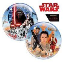 """Mintás Bubbles lufi 22"""" 56cm Héliummal töltve Disney Star Wars, 21317"""