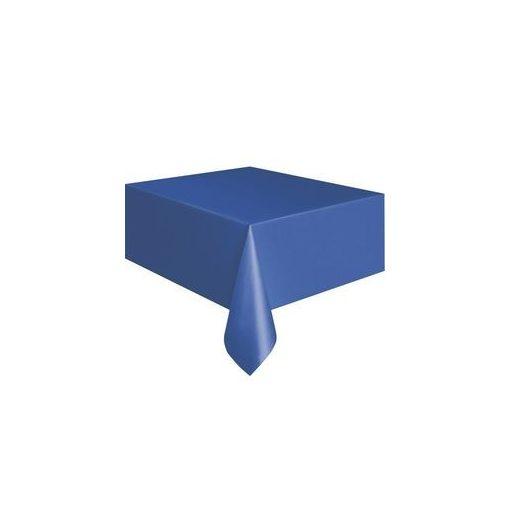 Műanyag asztalterítő 137x274cm sötétkék, p5085