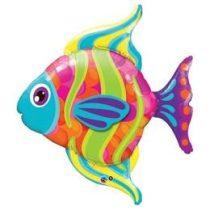 """Óriás fólia lufi 43"""" 109cm hal, héliummal töltve"""