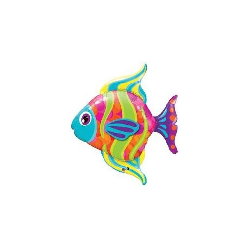 """Óriás fólia lufi 43"""" 109cm hal, héliummal töltve, 16448"""