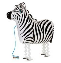 Sétáló lufi - zebra