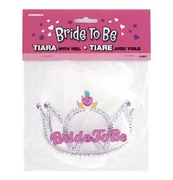 Tiara lánybúcsúra Bride to be
