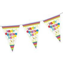 Zászlófüzér Happy Birthday 4m