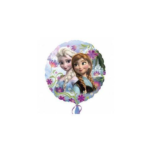 """Fólia lufi 17"""" 43cm Frozen, Elsa, Anna, Jégvarázs, 3019701, héliummal töltve"""
