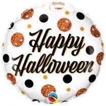 """Fólia lufi 18"""" 45cm Halloween, 89806, héliummal töltve"""