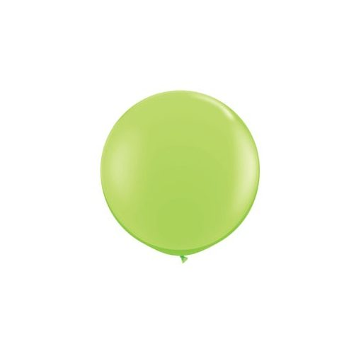 3 feet 91cm óriás latex léggömb fashion limezöld lufi, fashion lime green