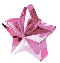 Léggömbsúly, nehezék 170g csillag forma, rózsaszín színben, 11780006