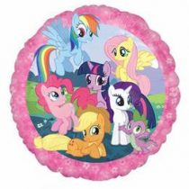 """Fólia lufi 18"""" 45cm My Little Pony, 2642101, héliummal töltve"""