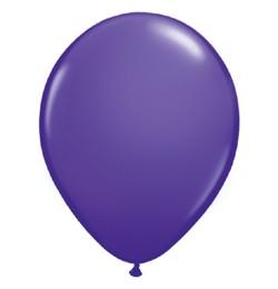 "QUALATEX 11"" (28cm-es) Latex léggömb, fashion színek, lila lufi, fashion purple violet"