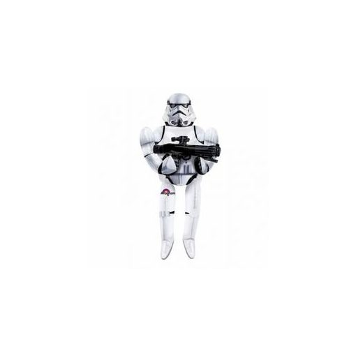Óriás sétáló lufi, airwalkers 70 inch 177 cm Star Wars, Rohamosztagos