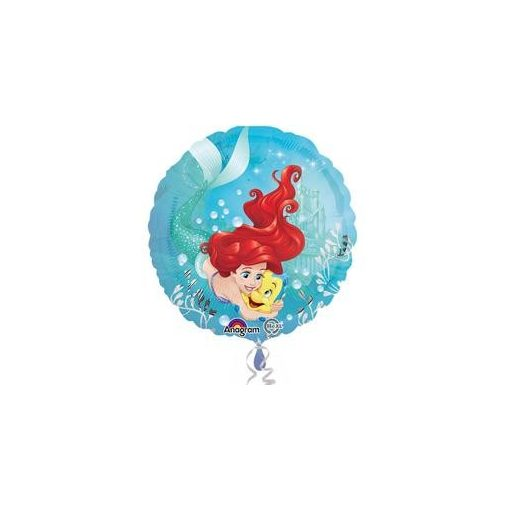 "Fólia lufi 17"" 43cm Ariel, Hableány, 3382301, héliummal töltve"