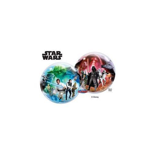 """Mintás Bubbles lufi 22"""" 56cm Héliummal töltve Disney Star Wars, 10474"""