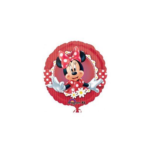 """Fólia lufi 18"""" 45cm, Minnie, 2481301, héliummal töltve"""