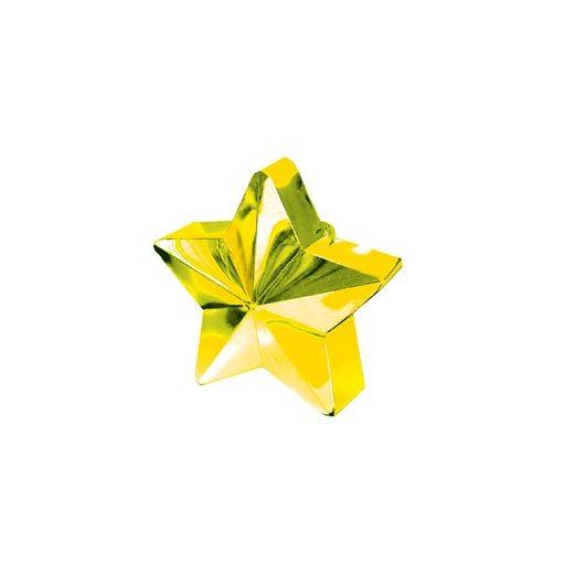 Léggömbsúly, nehezék 170g csillag forma, arany színben, 11780019