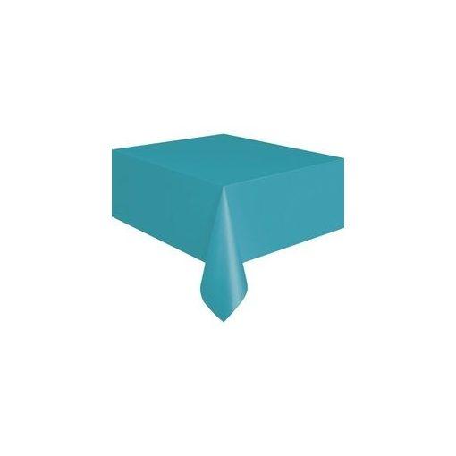 Műanyag asztalterítő 137x274cm türkisz, p5079