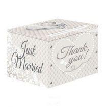 Esküvő, pénzgyűjtő doboz, 21382