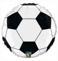 "Foci, football fólia lufi 18"" 45cm, 71597, héliummal töltve"