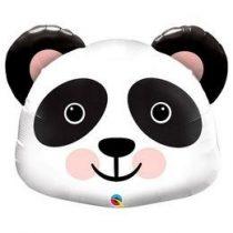 "Óriás fólia lufi 31""  79cm panda, 87946, héliummal töltve"